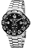 TAG Heuer Men's WAH1010.BA0854 Formula 1 Grande Date Black Dial Watch