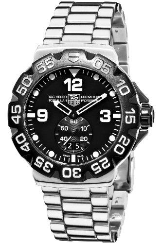 TAG Heuer Men's WAH1010.BA0854 Formula 1 Grande Date Black Dial Watch image