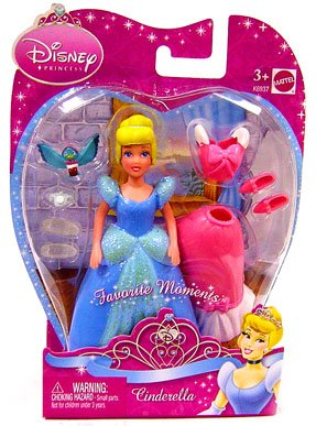 Disney Princess Favorite Moments Figure Cinderella by Mattel - 1