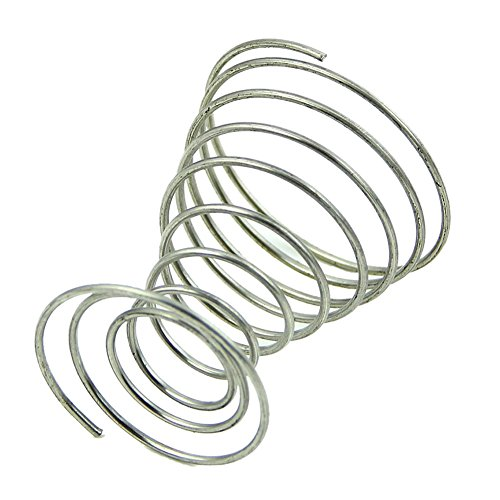 SODIAL(R) 1Pc Stainless Steel Spring Wire Tray Egg Cup Boiled Eggs Holder