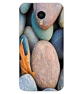 ColourCraft Stone Pattern Design Back Case Cover for MEIZU BLUE CHARM NOTE 3