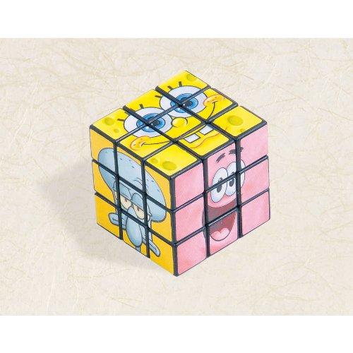 "Fun SpongeBob Puzzle Cube Party Favor, 1-1/8 x 1-1/8 x 1-1/8"", Multi - 1"