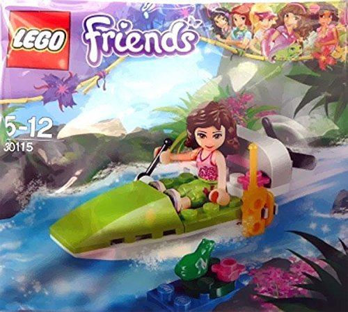 Lego, Friends, Jungle Air Boat with Olivia Bagged (30115) - 1