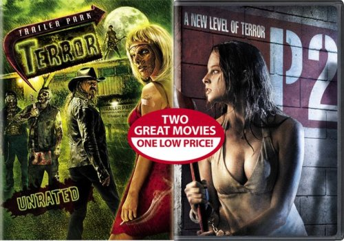 DVD : Trailer Park Of Terror / P2 (Side By Side Packaging, Widescreen, Unrated Version, Rated Version, 2PC)