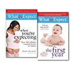 Heidi E. Murkoff. What to Expect Collection 2 Books Set By Heidi E. Murkoff. (What to Expect When You're Expecting & What to Expect the 1st Year)