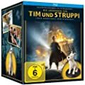 The Adventures of Tintin Limited Edition Gift Set with Steelbook and Mini Bust (Region B) [Blu-ray]