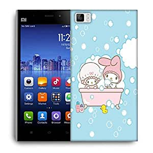 Snoogg Cute Baby Shower Designer Protective Back Case Cover For Xiaomi Mi 3