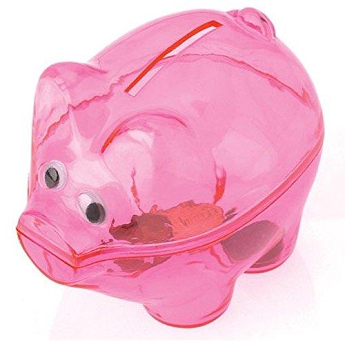 Pink Piggy Banks (1 Dozen) - Bulk - 1