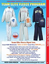 Anaconda Sports® Team Elite Fleece Program Package Deal (Call 1-800-398-7625 to order)