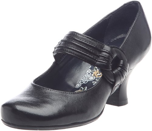 Hush Puppies Women's Entice Black Mary Janes