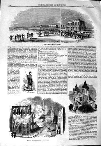 1844 Archery Meeting Yotk Church Kensall Green Irwell
