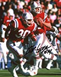 Steve Grogan autographed 8x10 photo