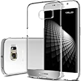Galaxy S6 Edge Case, Obliq [Invisible Drop Protection] Samsung Galaxy S6 Edge Cases [NaKED SHIELD][Satin Silver] Minimalistic Crystal Clear Hard Case - Verizon, AT&T, Sprint, T-Mobile, International, and Unlocked - Best Cover for Samsung Galaxy S VI 6 Edge 2015 Model