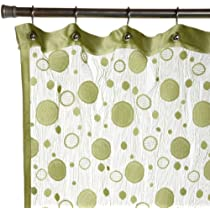 Pop Modern Knit Lace Shower Curtain