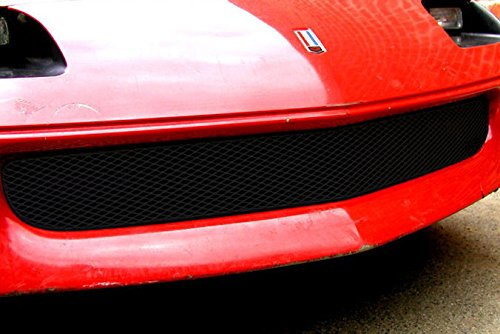 1993-1997 CHEVY CAMARO LOWER Bumper Grille Insert (Gloss Black Finish) (93 Camaro Bumper compare prices)