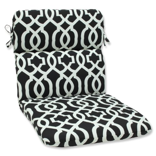 Pillow Perfect Outdoor New Geo Rounded Corners