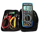 20A Digital Multimeter HP-760B mit Fehlbedienungssperre und Zubehör