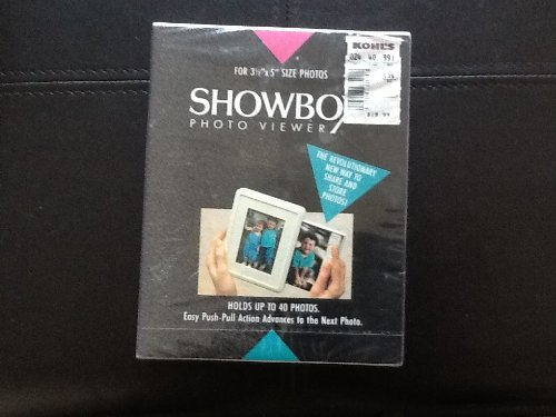 SHOWBOX Photo Viewer For 3 1/2 x 5 PHOTOS (Soft White)