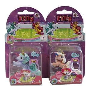 Schauen Sie sich Kundenbewertung für Simba 105951177 - Filly Ice Unicorn, 6 cm, sortiert, 2er Set