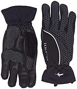Sealskinz Men's Performance Road Cycle Glove - Black/Grey, Large