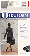 Truform Lites Mild Sheer Compression Pantyhose Black Extra-Tall
