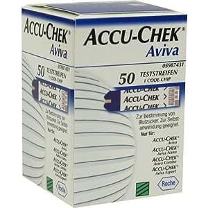 Aviva Accu-Chek Teststreifen, 50 Streifen