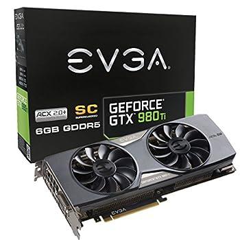 【国内正規品】 EVGA GeForce GTX980Ti SC w/ACX 2.0 グラフィックボード 06G-P4-4993-KR