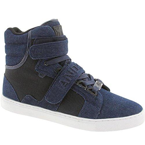 AH by Android Homme Men's Propulsion Hi Sneaker 12 Blue