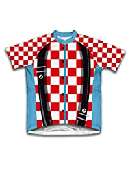 Rodeo Clown Short Sleeve Cycling Jersey for Women