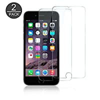 BESIGN iPhone 7 Screen Protector, 2-Pack [3D Touch Compatible] Premium Tempered Glass Screen Protector Film for Apple iPhone 7 (4.7'' for iPhone 7) by BESIGN