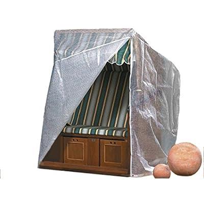 Schutzhülle für Strandkörbe Basic 128x105x165/140cm von VDG-F.KERSTIN auf Gartenmöbel von Du und Dein Garten