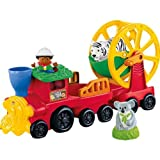 Cool Fisher-Price Little People Zoo Train Combo Set with accompanying Set of 10 KiddiSafe Door Stoppers