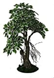 POLLINATION VARIEGATED FICUS ARTIFICIAL PLANT