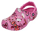 Kids Crocs Girls Hello Kitty Good Times Party Pink Clogs Shoes