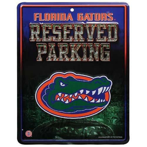NCAA Florida Gators Parking Sign