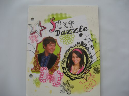 Disney High School Musical Mini Portfolio Folder Star Dazzle Troy & Gabriella