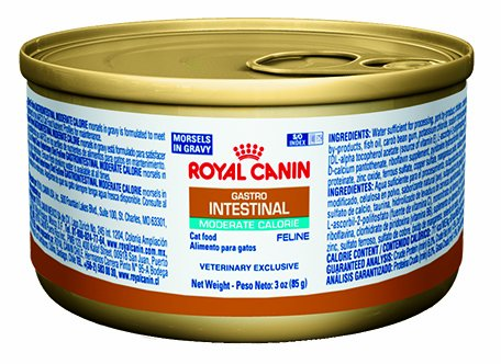 Royal Canin Feline Gastrointestinal Moderate Calorie Morsels In Gravy
