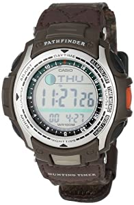 Casio Men's PAS410B-5V Pathfinder Moon Phase Hunting Timer Watch