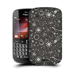 MobileGlaze Designs Space Adventure Pencil Sketch Hard Back Case Cover for BLACKBERRY BOLD TOUCH 4 9900