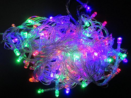 Paradisiacal Popular 8 Modes 30M 300 LED Nightlight Decoration Party Lamp Illuminations Color Multi-Color with US Plug 110V