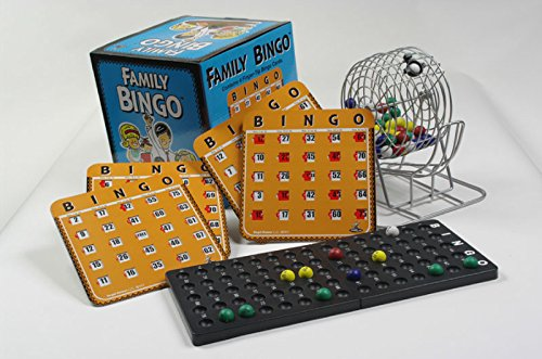 Family Bingo Set with Shutter Slide Cards