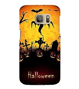EPICCASE Halloween Grave Mobile Back Case Cover For Samsung Galaxy S7 (Designer Case)
