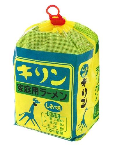 小笠原製粉 キリンラーメン しお味 6食入り