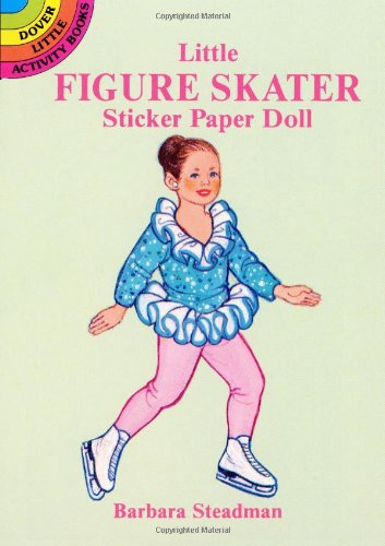 Little Figure Skater Sticker Paper Doll (Dover Little Activity Books)
