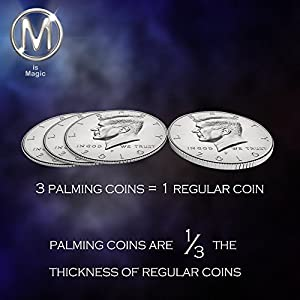 Half Dollar Palming Coin
