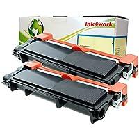 2-Pack Ink4work ST-TN660-2PK Toner Cartridge - Black
