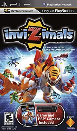 inviZimals UMD with PSP Camera