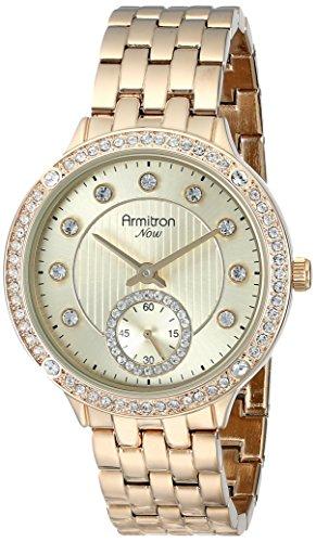 armitron-femme-75-5234chgp-analog-display-japanese-quartz-gold-montre