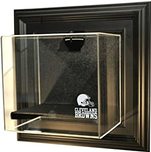 NFL Cleveland Browns Mini-Helmet Case-Up Display Case with Museum Quality UV Upgrade,... by Caseworks