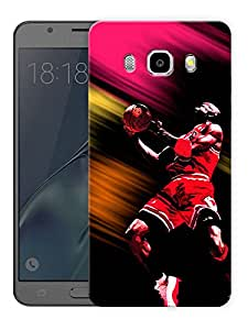 "Michael JordanPrinted Designer Mobile Back Cover For ""Samsung Galaxy J7 2016 Edition"" (3D, Matte, Premium Quality Snap On Case)"